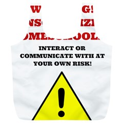 Warning Full Print Recycle Bags (l)  by athenastemple