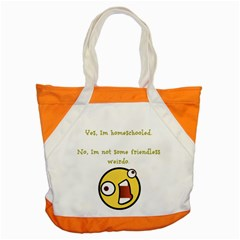 Weirdo Accent Tote Bag by athenastemple