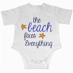 The Beach Fixes Everything Infant Creepers by OneStopGiftShop