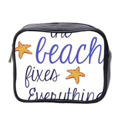 The Beach Fixes Everything Mini Toiletries Bag 2 Side by OneStopGiftShop