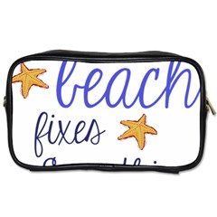 The Beach Fixes Everything Toiletries Bags by OneStopGiftShop