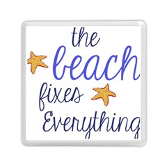 The Beach Fixes Everything Memory Card Reader (square)