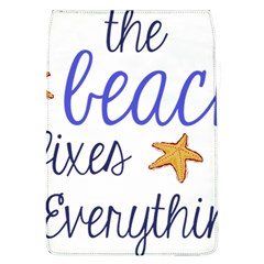 The Beach Fixes Everything Flap Covers (l)  by OneStopGiftShop