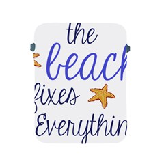 The Beach Fixes Everything Apple Ipad 2/3/4 Protective Soft Cases by OneStopGiftShop