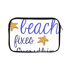 The Beach Fixes Everything Apple Ipad Mini Zipper Cases by OneStopGiftShop