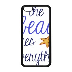 The Beach Fixes Everything Apple Iphone 5c Seamless Case (black) by OneStopGiftShop
