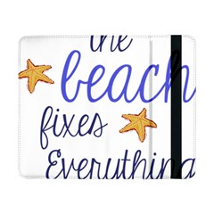 The Beach Fixes Everything Samsung Galaxy Tab Pro 8 4  Flip Case by OneStopGiftShop