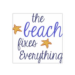 The Beach Fixes Everything Satin Bandana Scarf by OneStopGiftShop