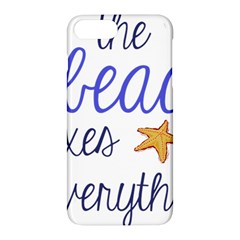 The Beach Fixes Everything Apple Iphone 7 Plus Hardshell Case by OneStopGiftShop
