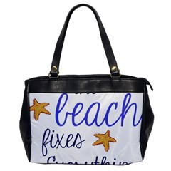 The Beach Fixes Everything Office Handbags