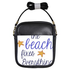 The Beach Fixes Everything Girls Sling Bags