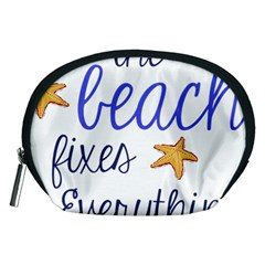 The Beach Fixes Everything Accessory Pouches (medium)  by OneStopGiftShop