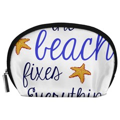 The Beach Fixes Everything Accessory Pouches (large)