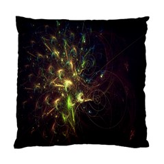Fractal Flame Light Energy Standard Cushion Case (two Sides) by Nexatart