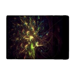 Fractal Flame Light Energy Apple Ipad Mini Flip Case by Nexatart