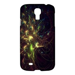 Fractal Flame Light Energy Samsung Galaxy S4 I9500/i9505 Hardshell Case by Nexatart