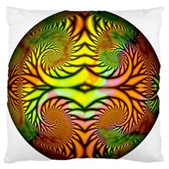 Fractals Ball About Abstract Standard Flano Cushion Case (one Side) by Nexatart