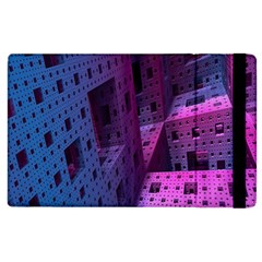 Fractals Geometry Graphic Apple Ipad 2 Flip Case by Nexatart