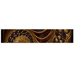 Fractal Spiral Endless Mathematics Flano Scarf (large) by Nexatart