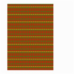 Fugly Christmas Xmas Pattern Small Garden Flag (two Sides)