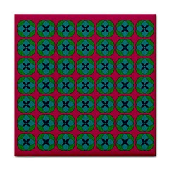 Geometric Patterns Tile Coasters
