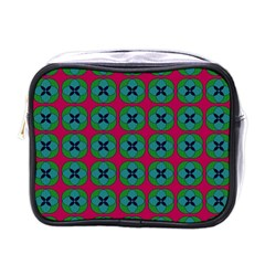 Geometric Patterns Mini Toiletries Bags