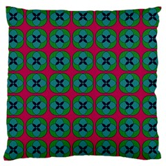 Geometric Patterns Large Cushion Case (one Side)
