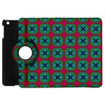 Geometric Patterns Apple iPad Mini Flip 360 Case Front
