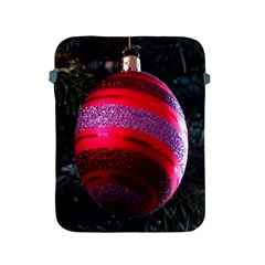 Glass Ball Decorated Beautiful Red Apple Ipad 2/3/4 Protective Soft Cases by Nexatart