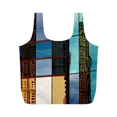 Glass Facade Colorful Architecture Full Print Recycle Bags (m)  by Nexatart