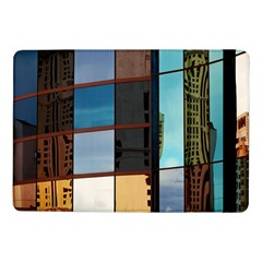 Glass Facade Colorful Architecture Samsung Galaxy Tab Pro 10 1  Flip Case by Nexatart