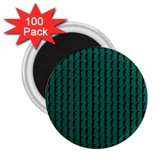 Golf Golfer Background Silhouette 2 25  Magnets (100 Pack)  by Nexatart