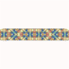 Modern Geometric Intricate Pattern Small Bar Mats by dflcprints