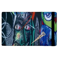 Graffiti Art Urban Design Paint Apple Ipad 2 Flip Case by Nexatart