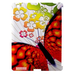 Greeting Card Butterfly Kringel Apple Ipad 3/4 Hardshell Case (compatible With Smart Cover)