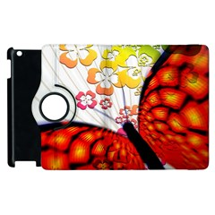 Greeting Card Butterfly Kringel Apple Ipad 3/4 Flip 360 Case by Nexatart