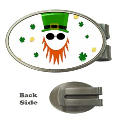 St  Patrick s Day Money Clips (oval)  by Valentinaart