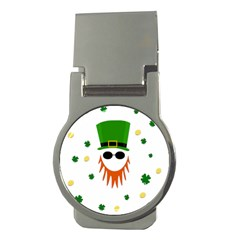 St  Patrick s Day Money Clips (round)  by Valentinaart