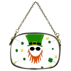 St  Patrick s Day Chain Purses (two Sides)  by Valentinaart