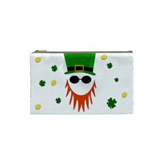 St  Patrick s Day Cosmetic Bag (small)  by Valentinaart