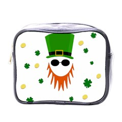 St  Patrick s Day Mini Toiletries Bags by Valentinaart