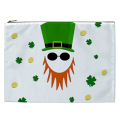St  Patrick s Day Cosmetic Bag (xxl)  by Valentinaart