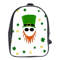 St  Patrick s Day School Bags (xl)  by Valentinaart