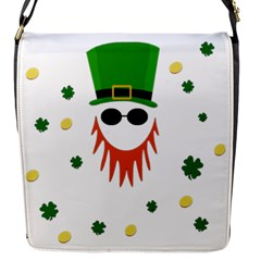 St  Patrick s Day Flap Messenger Bag (s) by Valentinaart