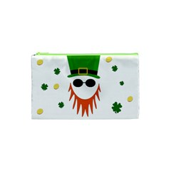 St  Patrick s Day Cosmetic Bag (xs) by Valentinaart