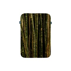 Green And Brown Bamboo Trees Apple Ipad Mini Protective Soft Cases by Nexatart