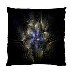 Fractal Blue Abstract Fractal Art Standard Cushion Case (one Side)