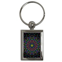 Fractal Texture Key Chains (rectangle)