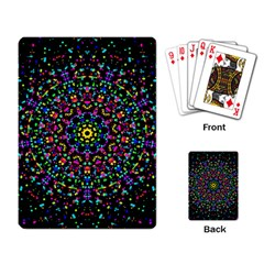 Fractal Texture Playing Card