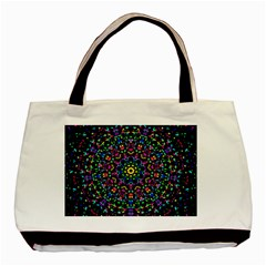 Fractal Texture Basic Tote Bag